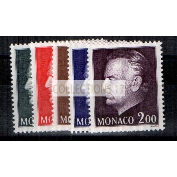 Monaco - Numéro 992 à 996 - neuf avec charnière