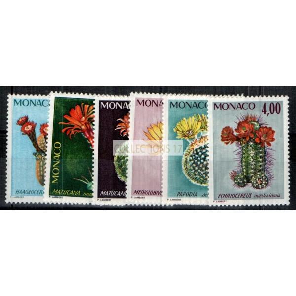 Monaco - Numéro 997 à 1002 - neuf avec charnière