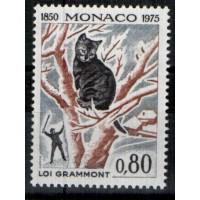 Monaco - Numéro 1032 - neuf avec charnière