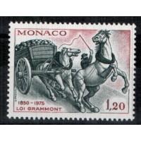 Monaco - Numéro 1033 - neuf avec charnière