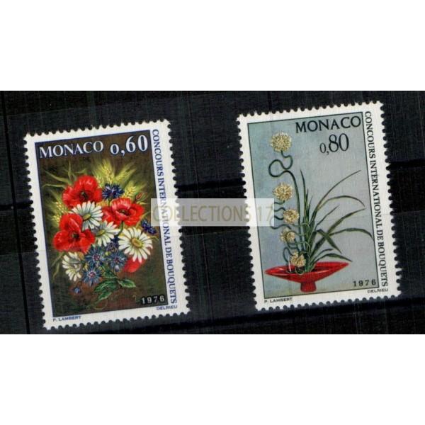 Monaco - Numéro 1035 et 1036 - neuf avec charnière