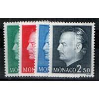 Monaco - Numéro 1079 à 1082 - neuf avec charnière