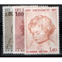 Monaco - Numéro 1098 à 1100 - neuf avec charnière