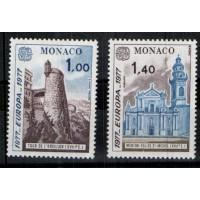 Monaco - Numéro 1101 et 1102 - neuf avec charnière