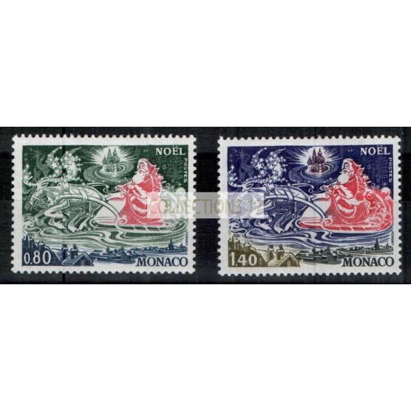 Monaco - Numéro 1113 et 1114 - neuf avec charnière