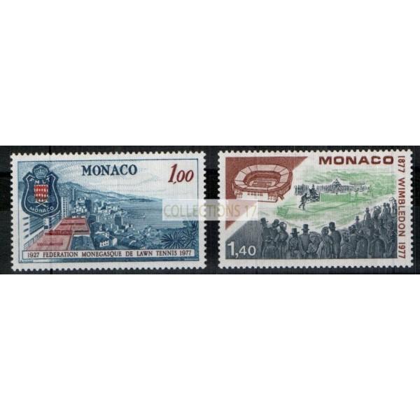 Monaco - Numéro 1121 et 1122 - neuf avec charnière