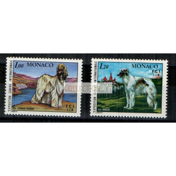 Monaco - Numéro 1163 et 1164  - neuf avec charnière