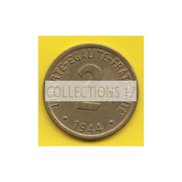 2 Francs - France Libre - Philadelphie - 1944