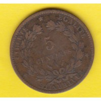 5 Centimes Ceres - 1888 A