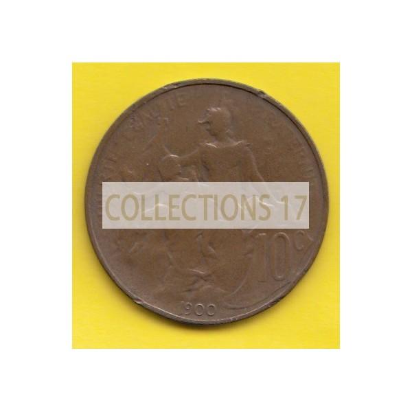 10 Centimes Dupuis - 1900