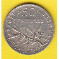 50 Centimes 1917