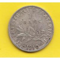 1 Franc Semeuse argent 1910
