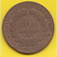10 Centimes Ceres - 1889 A