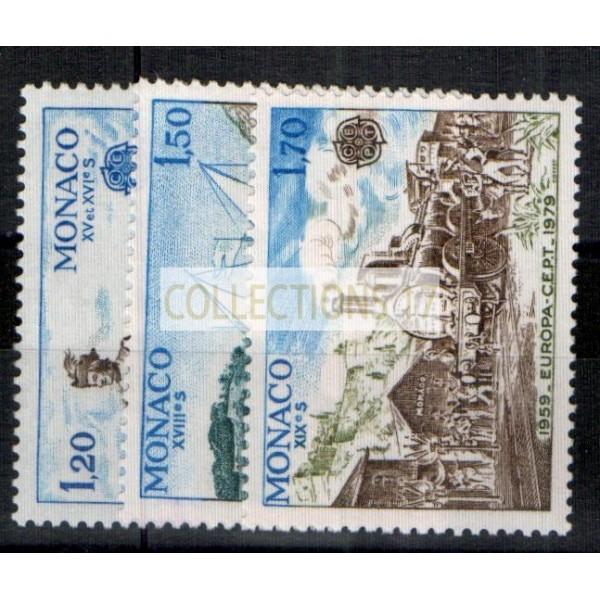 Monaco - Numéro 1186 à 1188 - neuf avec charnière