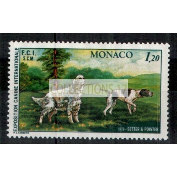 Monaco - Numéro 1208 - neuf avec charnière