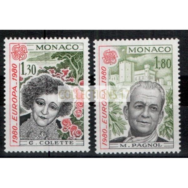 Monaco - Numéro 1224 et 1225 - neuf avec charnière