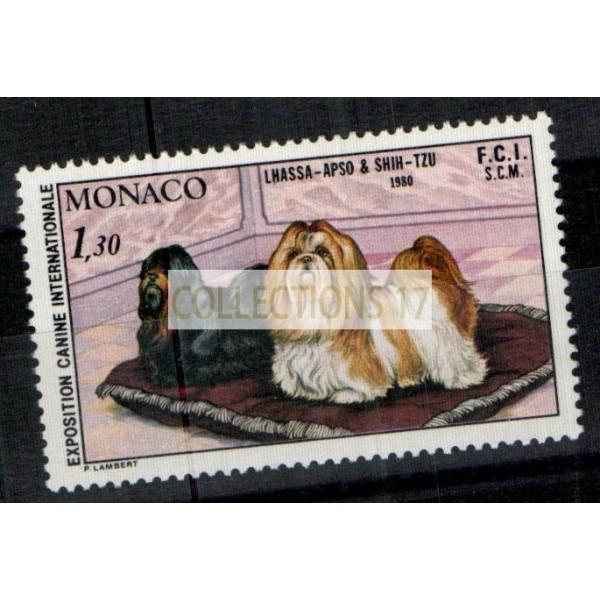 Monaco - Numéro 1232 - neuf avec charnière