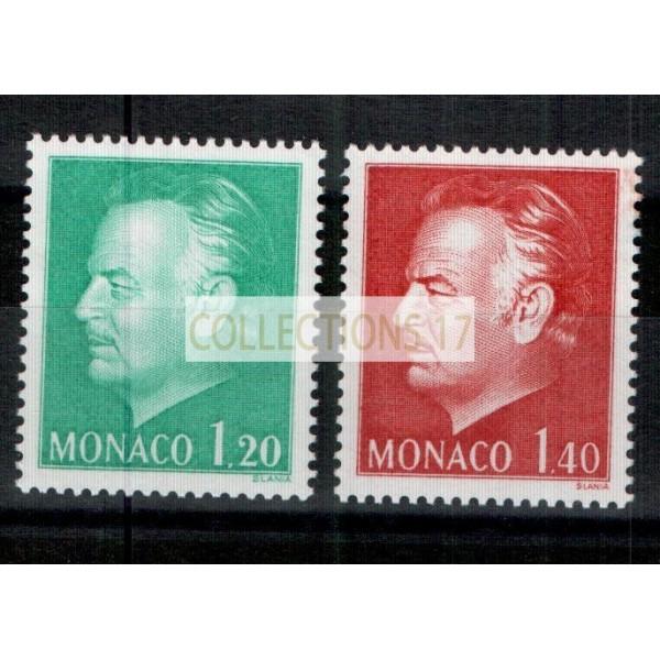 Monaco - Numéro 1233 et 1234 - neuf sans charnière