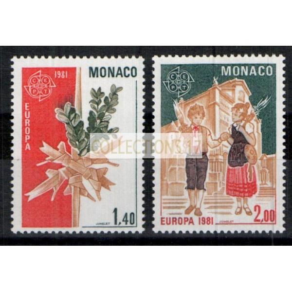 Monaco - Numéro 1273 et 1274 - neuf sans charniere