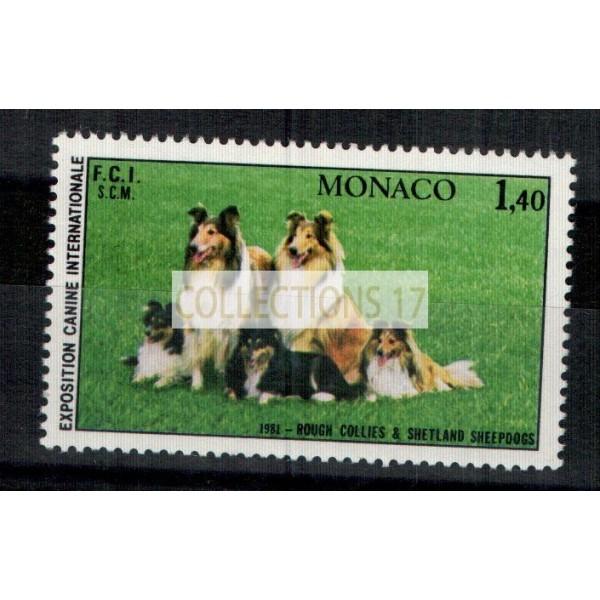 Monaco - Numéro 1280 - neuf sans charniere