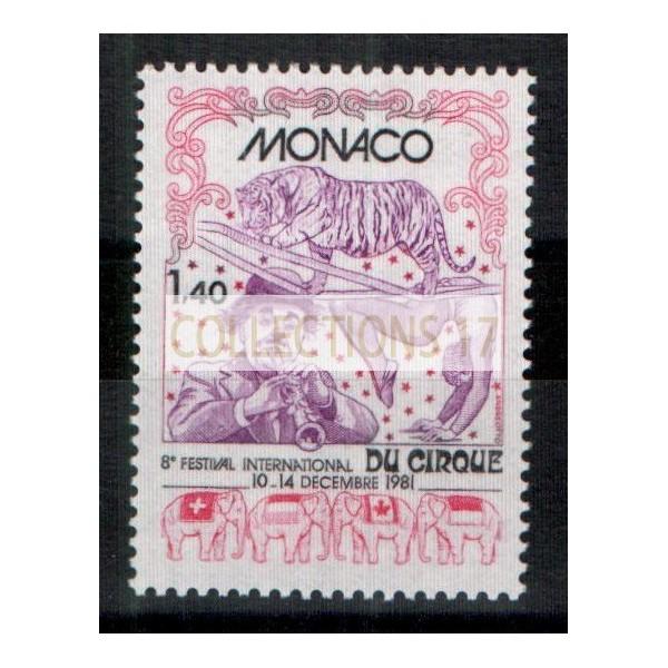 Monaco - Numéro 1298 - neuf sans charniere