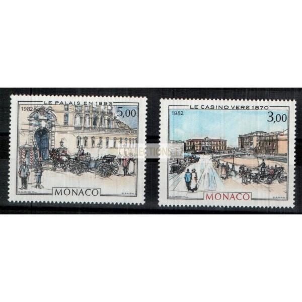 Monaco - Numéro 1340 et 1341 - Neuf sans charnière