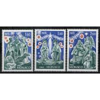 Monaco - Numéro 1352 à 1354 - Neuf sans charnière