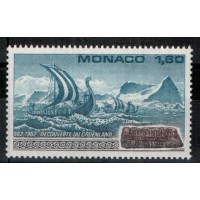Monaco - Numéro 1356 - Neuf sans charnière