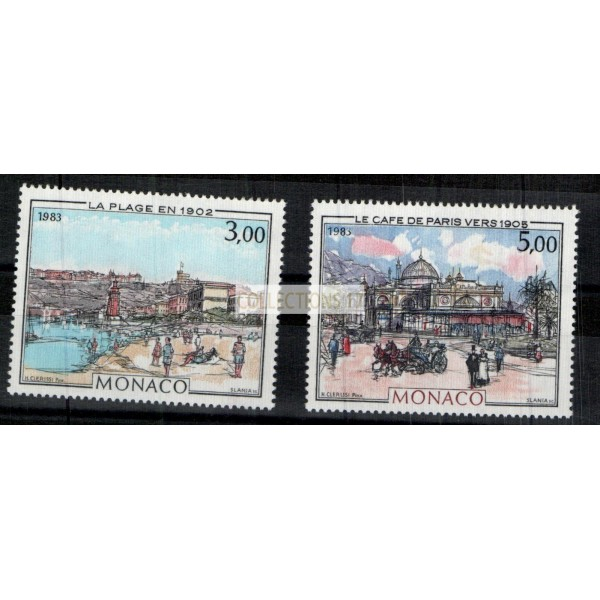 Monaco - Numéro 1385 et 1386  - Neuf sans charnière