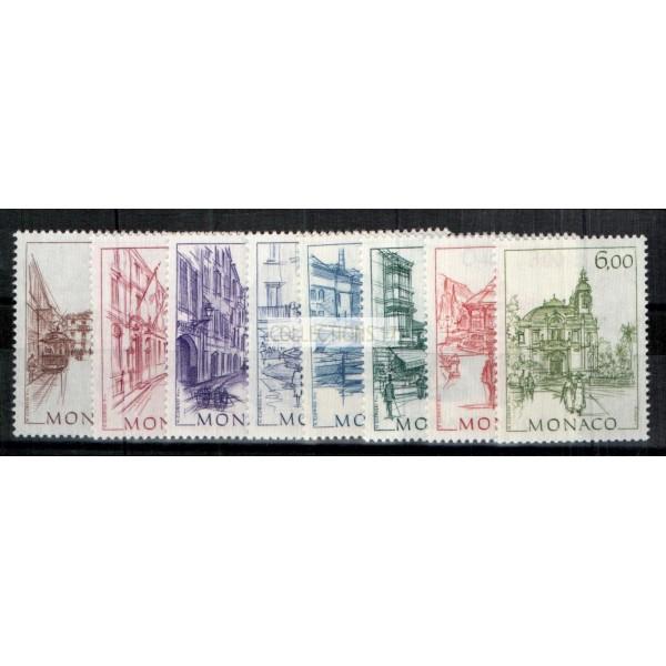 Monaco - Numéro 1404 à 1411 - neuf sans charniere