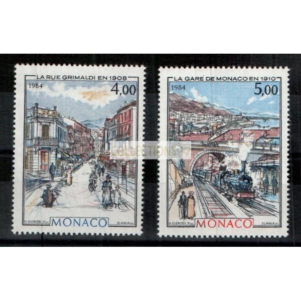 Monaco - Numéro 1433 et 1434 - neuf sans charniere