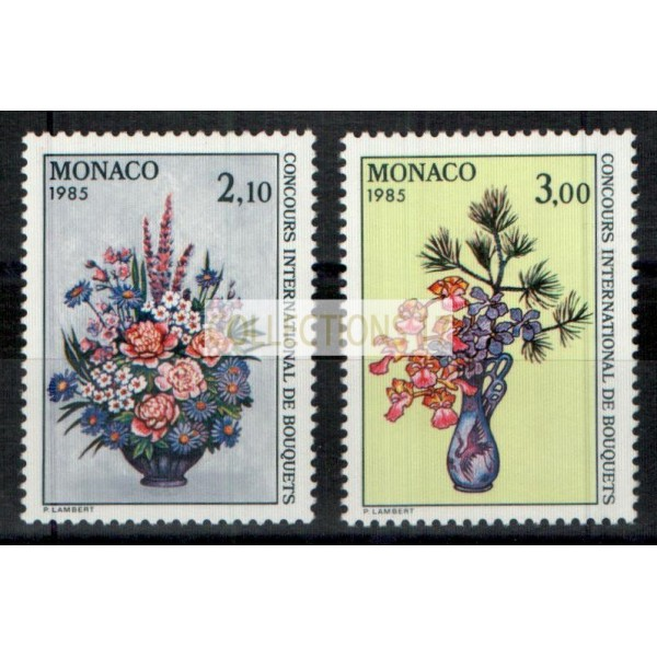 Monaco - Numéro 1448 et 1449 - neuf sans charniere