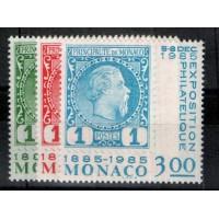 Monaco - Numéro 1456 à 1458 - neuf sans charniere