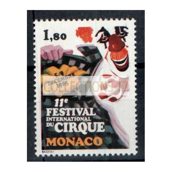 Monaco - Numéro 1496 - neuf sans charniere