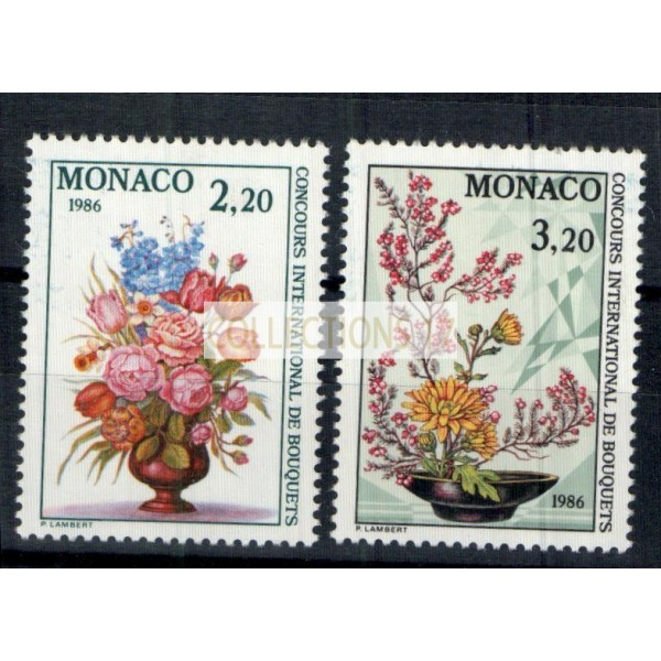 Monaco - Numéro 1497 et 1498 - neuf sans charniere