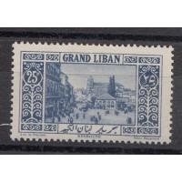 Grand Liban - Numéro 62 - neuf avec charnière