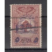 Grand Liban - Numéro 197 - oblitéré