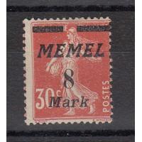 Timbres de Memel - numéro 88 - neuf sans gomme