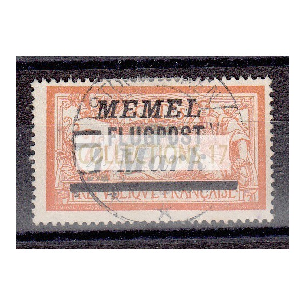 Timbres de Memel - numéro PA 26 - oblitéré