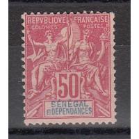 Timbres du Sénégal - numéro 18 - neuf avec charnière