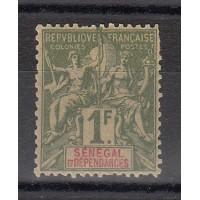 Timbres du Sénégal - numéro 20 - neuf avec charnière