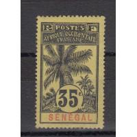Timbres du Sénégal - numéro 39 - neuf avec charnière