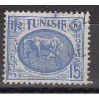 Timbres de Tunisie - numéro 344 A - oblitéré
