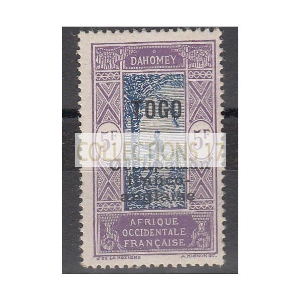 Timbres du Togo - numéro 100 - neuf avec charnière