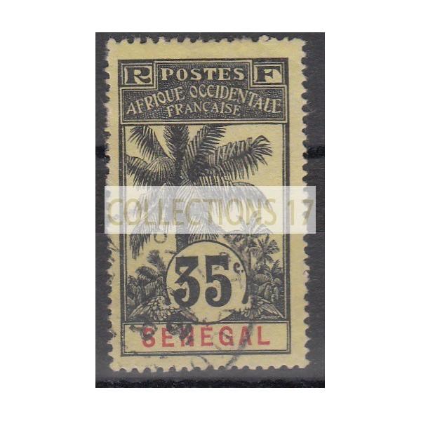 Timbres du Senegal - numéro 39 - oblitéré