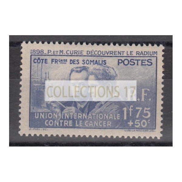 Cote des Somalis - Numéro 147 - Neuf sans gomme
