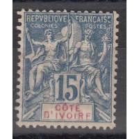 Cote d'Ivoire - Numéro 6  - Neuf avec charnière