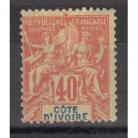 Cote d'Ivoire - Numéro 10  - Neuf avec charnière