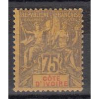 Cote d'Ivoire - Numéro 12  - Neuf avec charnière