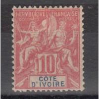 Cote d'Ivoire - Numéro 14  - Neuf avec charnière